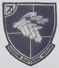 US NAVY PATCH RICAMATE Airborne Electronic Warfare... a2651