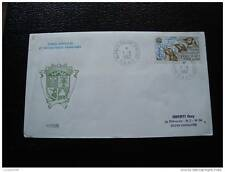 TAAF lettre 11/6/82 - timbre stamp - yvert et tellier aérien n°71 (cy6)