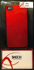 25 NEW! Skech Slim Super Thin Hard Shell iPhone 4 Skin/Case Red