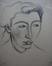 Ville Jais Nielsen, drawing. Jewish female artist. Portrait 1945