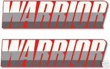 YAMAHA 1987 WARRIOR FENDER DECALS LIKE NOS RED MODEL