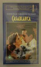 VHS Video, Casablanca, Featuring Humphrey Bogart, Ingrid Bergman