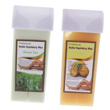 2 x100g Roll On Depilatory Wax Cartridge Hair Removal Remove Refillable