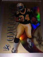 1999 SKYBOX EX CENTURY MINT RC ROOKIE RICKY WILLIAMS NEW ORLEANS SAINTS TEXAS