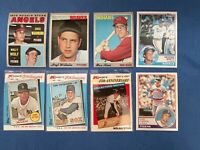 Collection of 8 TOPPS & Kmart Baseball Cards George Brett Nolan Ryan Kirk Gibson