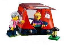 Lego ® City Minifig Figurine Grand Mère Petit Fille + Tente Camping NEW