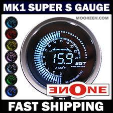 52mm MK1 Tinted 7 Color 2400 F Pyrometer EGT Gauge Peak Warning & Ceremony