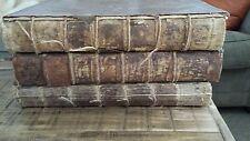 Discours historiques, critiques, théologiques, et moraux-3 Vol Set - 1728 & 1735