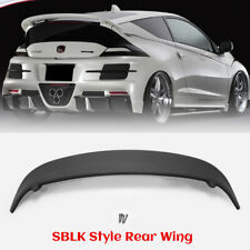 FRP Fiber SBLK Style Rear Wing Spoiler bodykits For HONDA 10.2 -12.8 CR-Z ZF1