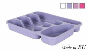Cutlery Tray Holder Tidy Drawer Draw Organiser Storage plastic 26.5cmx33.5cm