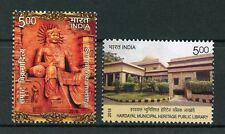 India 2016 MNH Samrat Vikramaditya Hardayal Public Library 2v Set Stamps