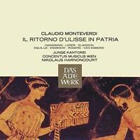 Nikolaus Harnoncourt - Monteverdi Il Ritorno D'ulisse In Patria (NEW 3CD)