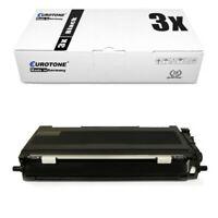 3x Eurotone Éco Cartouche Compatible De Brother MFC-7860-DN DCP-7065-DN HL-2230