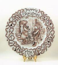 Royal Crownford Staffordshire Christmas 1978 Collectors Plate England
