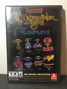 Dungeons & Dragons: Neverwinter Nights Complete (PC, 2011) with Guide and Map