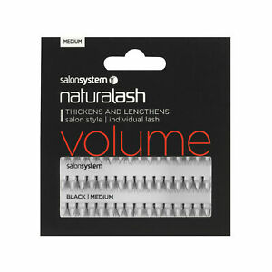 Salon Systems - NATURALASH VOLUME Individual Lashes - Clusters - Party lashes