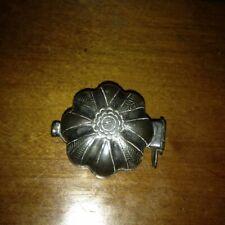 Cambodian Silver Small Pumpkin Betel Box Drug Paraphernalia 19th Century Look!