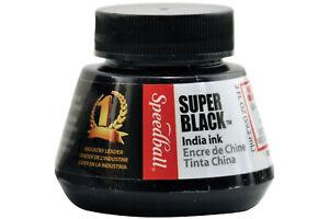 Speedball Super Black India Ink 2oz Jar (Jar)