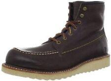 NEW FRYE Dakota Wedge Work Casual Boots Men's Leather Dark Brown 87265 SZ 13 M