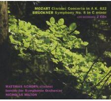 Matthias Schorn - Clarinet Concerto / Symphony No 8 [New CD]