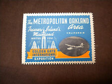 1939 Golden Gate International Exposition Stamp with China Clipper