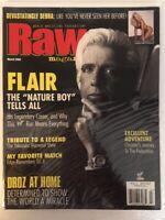 """WWF Raw Magazine 2002 March Ric Flair """"Nature Boy"""" Tells All WWE WCW AWA NWA HOF"""