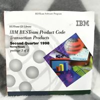 IBM BESTeam Product Code Transaction Products CD Library Software Program 1998