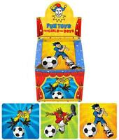 6 x Mini Football Puzzles Party Bag Loot Fillers Toy 3 designs Birthday