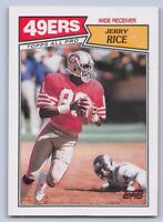 """1987  JERRY RICE - Topps """"All-Pro"""" Football Card  # 115 - SAN FRANCISCO 49ERS"""