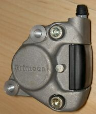 Grimeca 2 piston silver rear caliper for dirt track, custom bobber applications