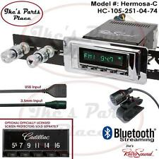 RetroSound 57-64 Cadillac Hermosa-C Radio/Bluetooth/RDS/USB/3.5mm AUX-In 4 ipod