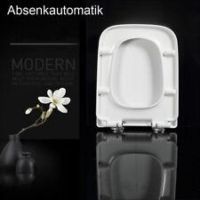WC Sitz Toilettensitz Toilettendeckel Klodeckel Klobrille mit Absenkautomatik