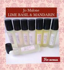 ▓ Pure grade perfume body oil (JO MALONE LIME BASIL MANDARIN)10ML ROLL ON BOTTLE
