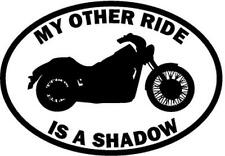 My Other Ride Is A Honda Shadow Motorcycle Car Window Vinyl Decal Sticker