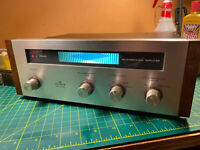 Pioneer SR-202 Stereo Spring Reverberation Amplifier, Pro Serviced w/LED Upgrade