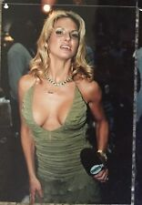 4 X 6 VINTAGE COLOR PHOTO~ADULT STAR~SAVANNA SAMSON~POSED HOSTING AT CLUB #1