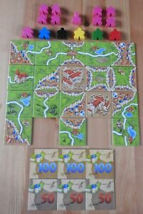Carcassonne – Inns & Cathedrals (No Box) | New | English Rules