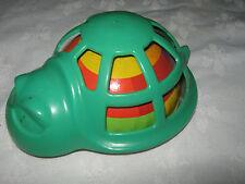 Vintage 1970's Novelty Tinplate & Plastic Infants Friction Drive Tortoise