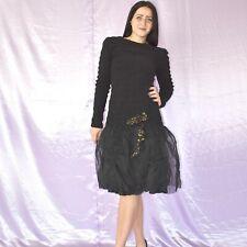 Stretchiges Long Sleeve Mini Dress M Evening Maxi Sheath Cocktail