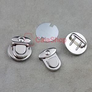 2 5 10 20 Closure Catch Tuck 4 Leather Bag Case Clasp hangbag Purse Lock CT265 S