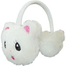 Winter Cat Kids Animal Earmuffs Headband Faux Fur Ear Muffs Warm Fluffy Soft