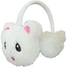 Winter Cat Kids Animal Earmuffs Headband Faux Fur Ear Muffs Warm Fluffy Soft