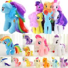 Plush My Little Pony Rainbow Figure Animal Stuffed Soft Xmas Doll Kids Fun Toys
