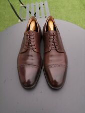LLOYDS Germany Mens 100% Leather, Dark Brown Lace-up Oxford Shoes UK 10F (44.5)