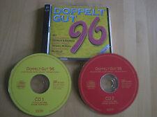 CD Doppelt Gut 1996 Deutsche Schlager topaktuell Ibo Brunner & Brunner Michelle