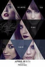 Pretty Little Liars Season 7 TV Poster (24x36) -Troian Bellisario, Ashley Benson