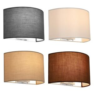 Fabric Wall Lights, Semi-Circle Shape, High Quality, With on/off Switch
