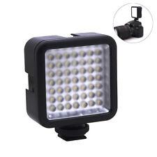 Video Camera LED Light Panel Lamp 6000K For DSLR Camcorder DV DVR Photography