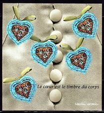 SELLOS  FRANCIA 2001 HB 33 SAN VALENTIN DE CHRISTIAN LACROIX 5v.