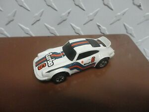 Loose Hot Wheels White Porsche P-911 Turbo w/Blackwall Wheels